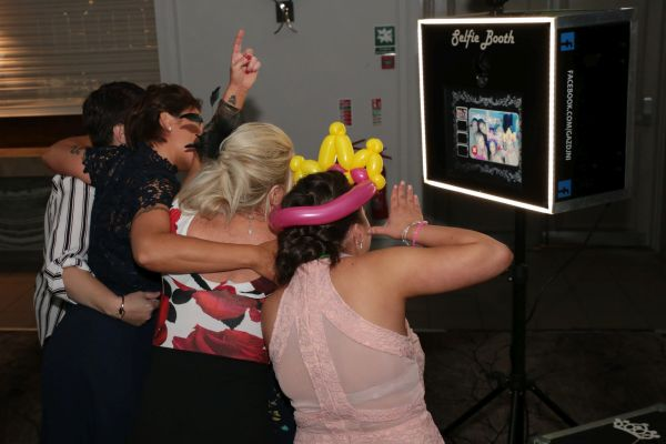 Selfie Booth Millbrook Wedding